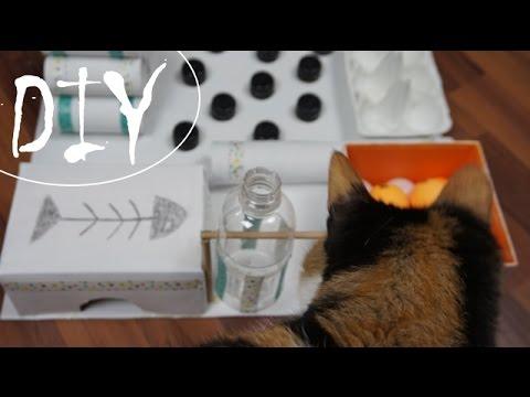 Katzenspielzeug aus Recyclingmaterial ~ (DIY/Tutorial)