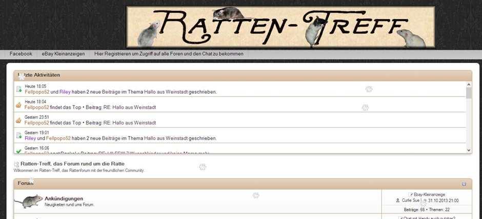 Ratten Treff Layout