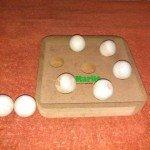 Eigentlich ein Intelligenzspielzeug für Katzen! Aber für Ratten zweckentfremdet!