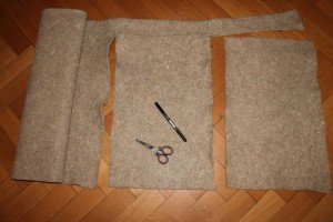 Hanfmatte für Holzetagen