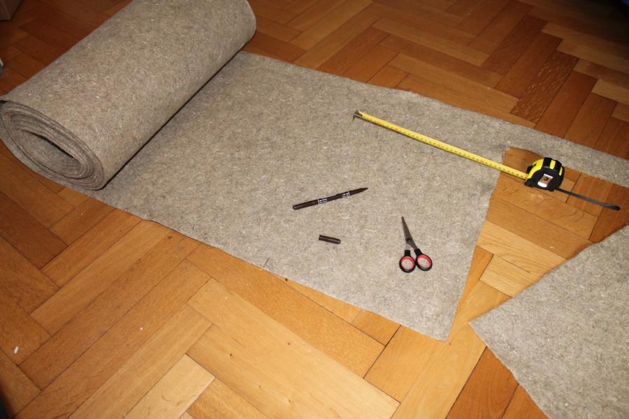 Hanfmatte für Ratten