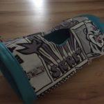 Kuschelrolle Blau