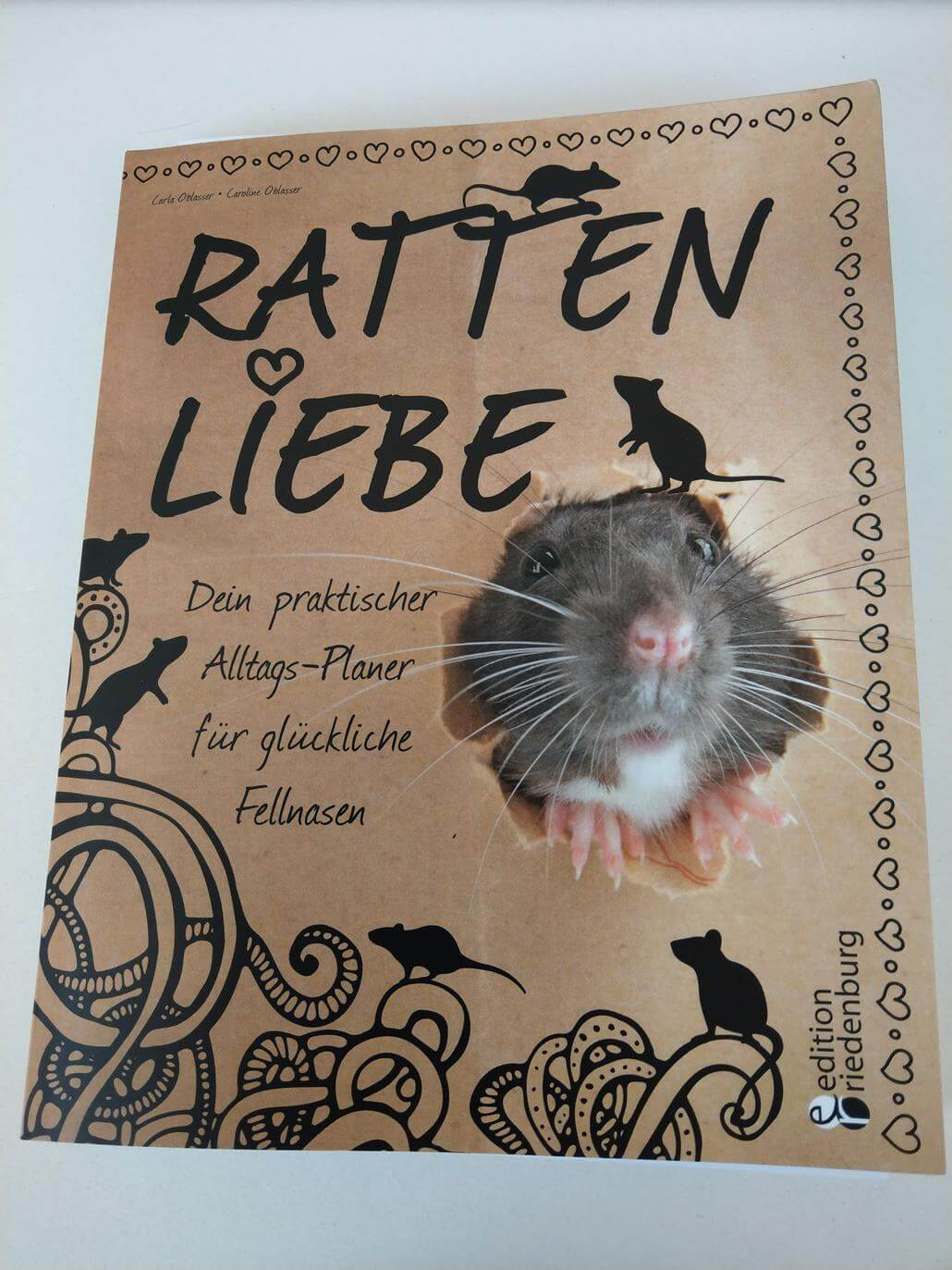 Rattenliebe - Buch Cover