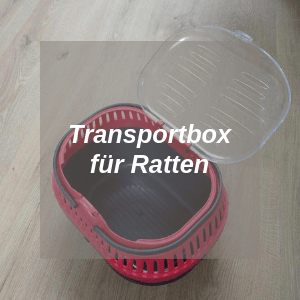 Transportbox für Ratten