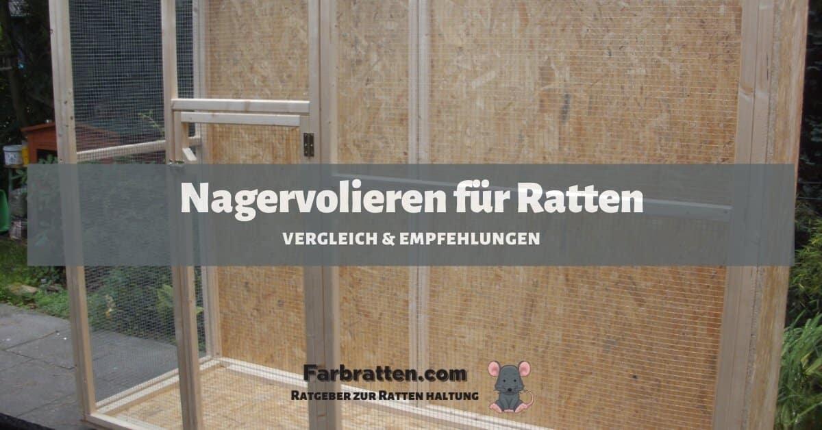 Nagervolieren für Ratten - FB 2