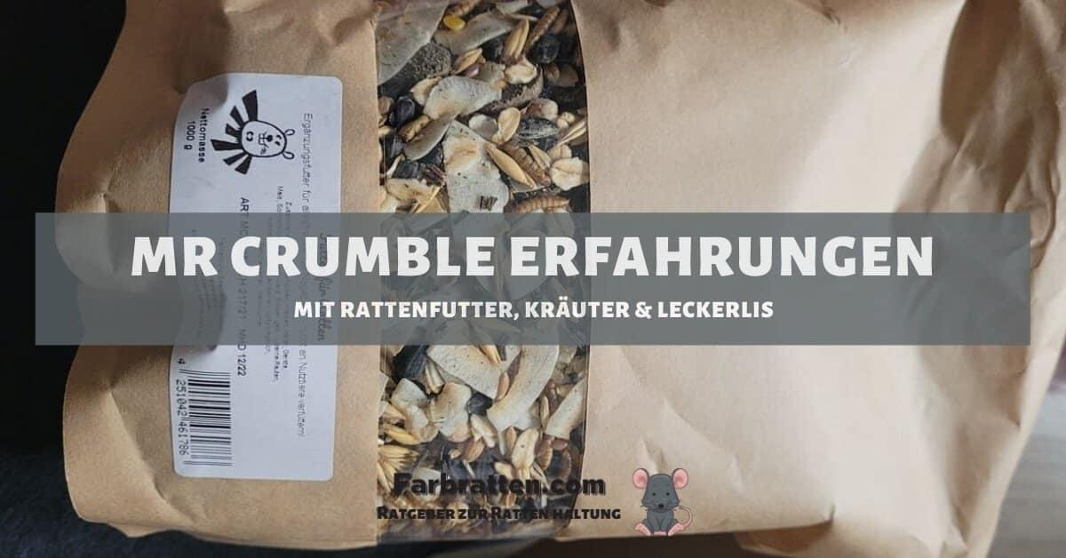 Mr Crumble Erfahrungen - FB